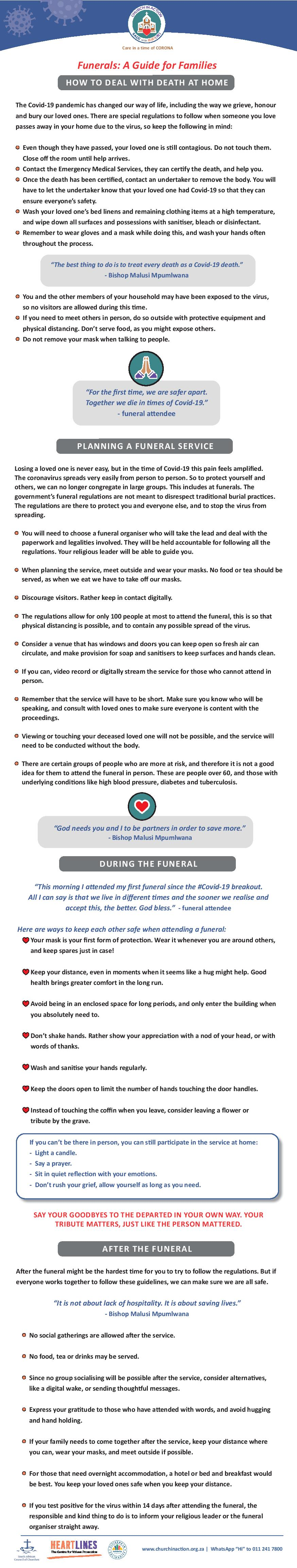 Funerals: A guide for families